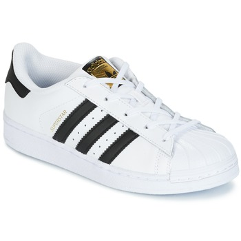Chaussures Air max tnEnfant Baskets basses adidas Originals SUPERSTAR Blanc / noir