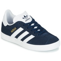 Chaussures Air max tnGarçon Baskets basses adidas Originals Gazelle C Marine