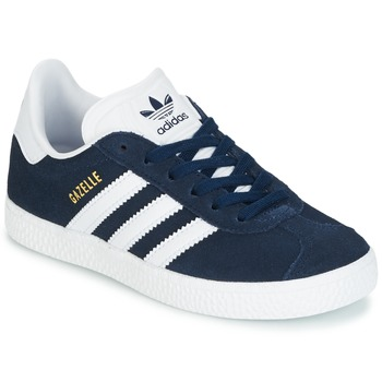 Chaussures Enfant Baskets basses adidas Originals Gazelle C Marine