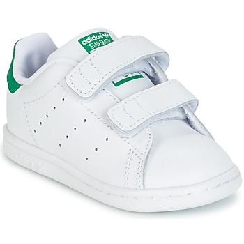 Chaussures Air max tnEnfant Baskets basses adidas Originals STAN SMITH CF I Blanc / Vert