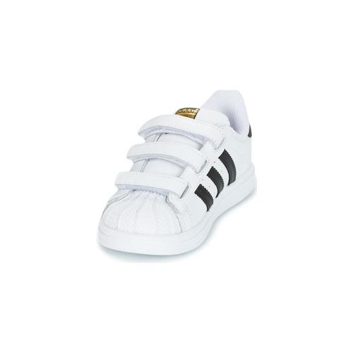 adidas Originals SUPERSTAR CF I Blanc / Noir