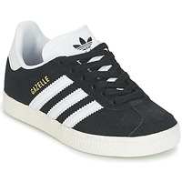 Chaussures Air max tnEnfant Baskets basses adidas Originals GAZELLE C Noir