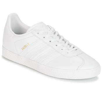Chaussures Enfant Baskets basses adidas Originals GAZELLE J Blanc
