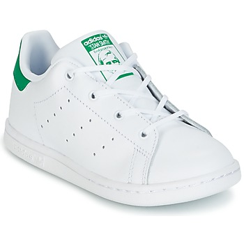 Chaussures Enfant Baskets basses adidas Originals STAN SMITH I Blanc / Vert