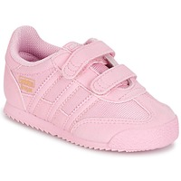 Chaussures Fille Baskets basses adidas Originals DRAGON OG CF C Rose