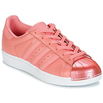 Chaussures Femme Baskets basses adidas Originals SUPERSTAR Rose