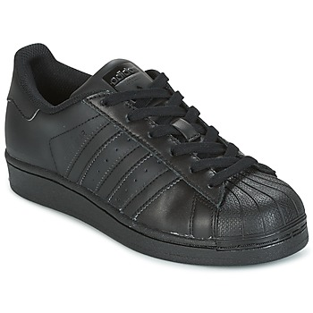 Chaussures Air max tnEnfant Baskets basses adidas Originals SUPERSTAR Noir