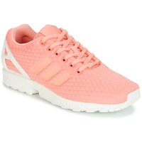 Chaussures Femme Baskets basses adidas Originals ZX FLUX W Rose / Blanc