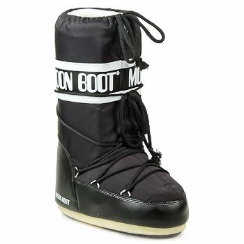 Chaussures Bottes de neige Moon Boot MOON BOOT NYLON Noir