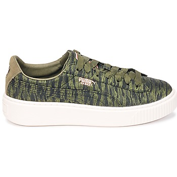 Baskets basses Puma Basket Platform Bi Color