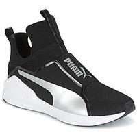 Chaussures Femme Baskets montantes Puma FIERCE core Noir