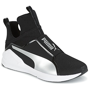 Chaussures Air max tnFemme Baskets montantes Puma FIERCE core Noir