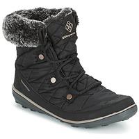 Chaussures Air max tnFemme Bottes de neige Columbia HEAVENLY SHORTY OMNI-HEAT Noir