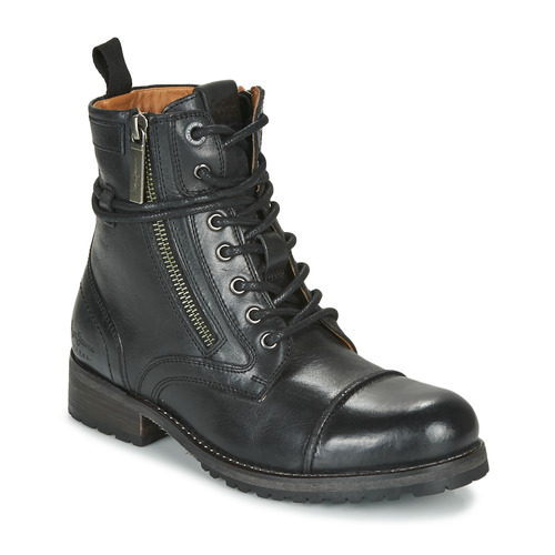 Chaussures Femme Boots Pepe jeans MELTING Noir