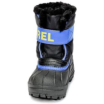 Sorel CHILDRENS SNOW COMMANDER Noir / Bleu