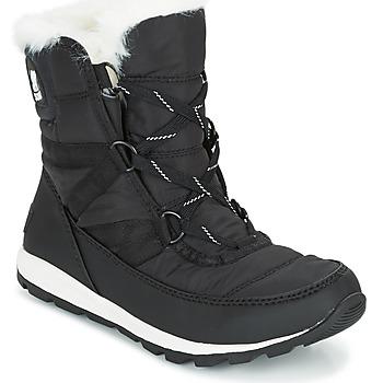 Chaussures Femme Boots Sorel WHITNEY SHORT LACE Noir
