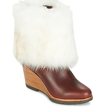 Chaussures Femme Boots Sorel PARK CITY SHORT Marron