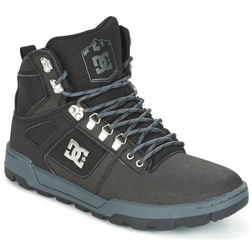 DC Shoes SPARTAN HIGH WR Noir / Gris kbkxUnN