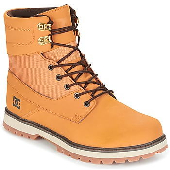 Chaussures Homme Boots DC Shoes UNCAS M BOOT TBK Beige / Noir / Marron
