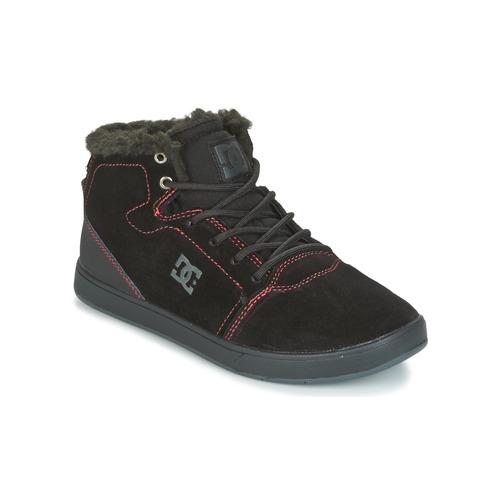 DC Shoes CRISIS HIGH WNT Noir / Rouge / Blanc