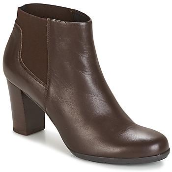 Chaussures Femme Bottines Geox D ANNYA Marron