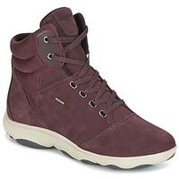 Chaussures Femme Baskets montantes Geox D NEBULA 4 X 4 B ABX Bordeaux