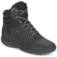 Chaussures Femme Baskets montantes Geox D NEBULA 4 X 4 B ABX Noir