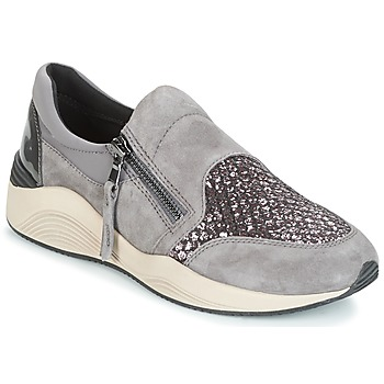 Chaussures Femme Baskets basses Geox D OMAYA Gris