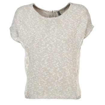 Vêtements Femme T-shirts manches courtes Naf Naf MILLON Gris