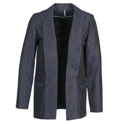 Vêtements Femme Vestes / Blazers Naf Naf ELYO Marine