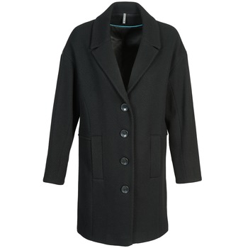 Vêtements Femme Manteaux Naf Naf ALEX Noir