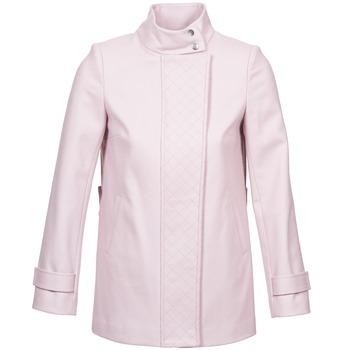 Vêtements Femme Manteaux Naf Naf ACORA Rose