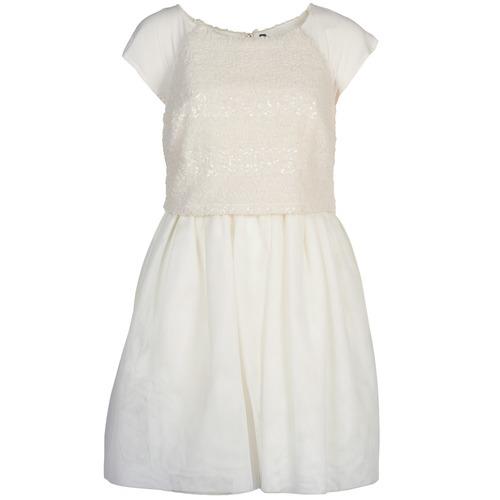 Vêtements Femme Robes courtes Naf Naf LYMELL Blanc