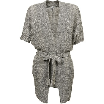 Vêtements Femme Gilets / Cardigans Naf Naf NADO Gris
