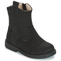 Chaussures Fille Bottes ville Mod'8 ZOULIA Noir