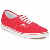 Chaussures Air max tnBaskets basses Vans LPE Rouge