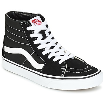 Chaussures Baskets montantes Vans SK8 HI Noir / Blanc