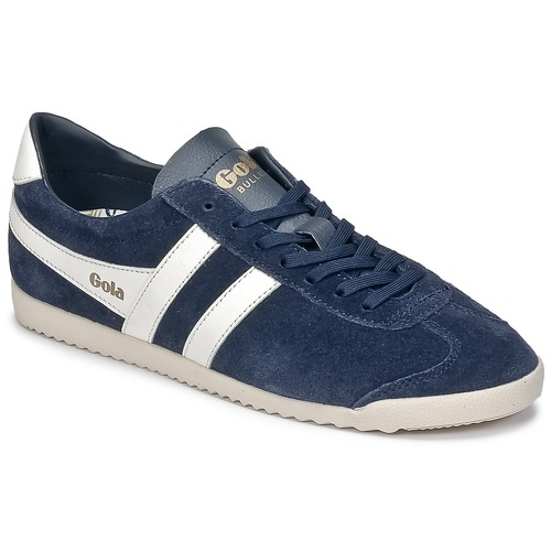 Chaussures Homme Baskets basses Gola BULLET SUEDE Marine / Blanc