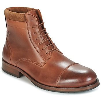 Chaussures Homme Boots Kost DRANSE 45 Cognac