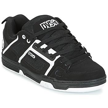 Chaussures Baskets basses DVS COMANCHE Noir / Blanc