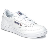 Chaussures Air max tnEnfant Baskets basses Reebok Classic CLUB C Blanc