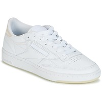 Chaussures Air max tnFemme Baskets basses Reebok Classic CLUB C 85 L THR Blanc
