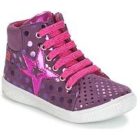 Chaussures Fille Baskets montantes Agatha Ruiz de la Prada FLOW Violet