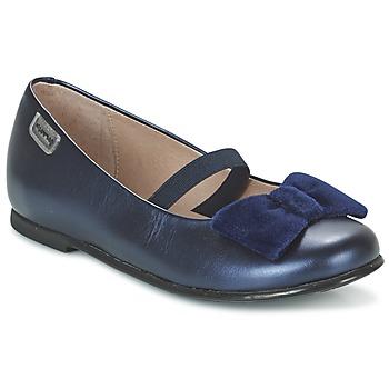 Chaussures Fille Ballerines / babies Garvalin GARDEN Bleu
