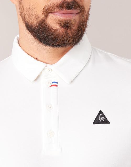Le Coq Sportif LCS TECH POLO Blanc