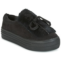 Chaussures Femme Baskets basses Coolway PLUTON Noir