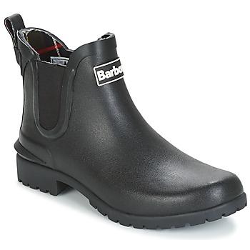 Chaussures Femme Bottes de pluie Barbour WILTON Noir