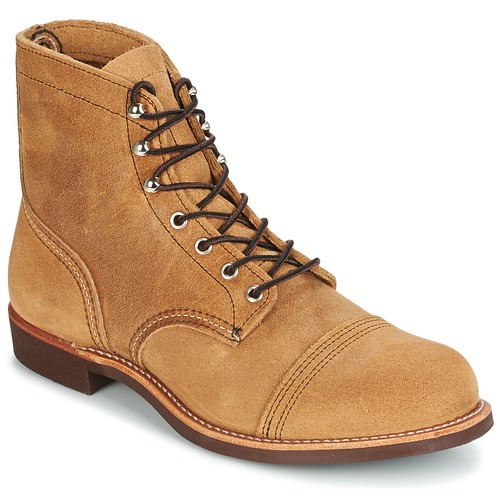 Chaussures Homme Boots Red Wing IRON RANGER Camel