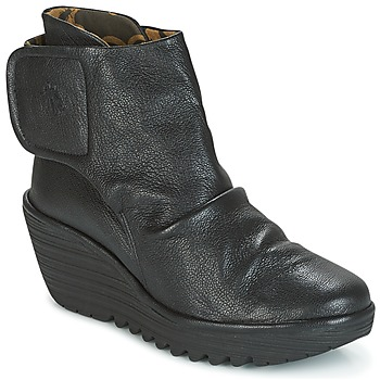 Chaussures Femme Bottines Fly London YOMI Noir