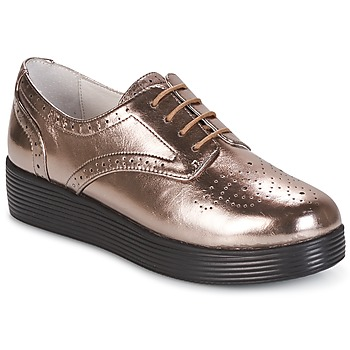 Chaussures Femme Derbies Mellow Yellow CLANARY Bronze